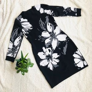 Calvin Klein Dresses - Calvin Klein Floral Sweater Dress - H